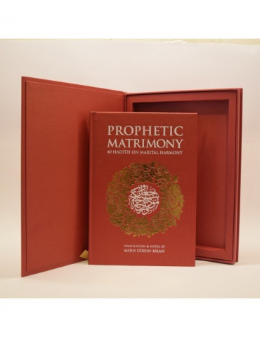 Prophetic Matrimony Gift Edition (With Fiqh of Marriage CD set)