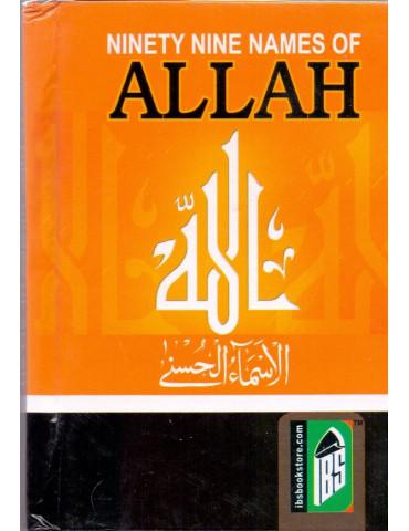 99 Names of Allah (Pocket Size)
