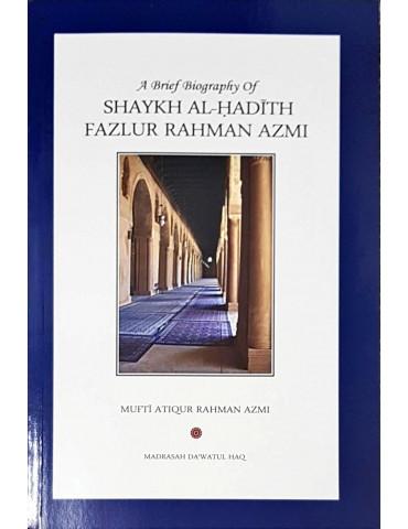 Shaykh al-Hadith Fazlur Rahman Azmi