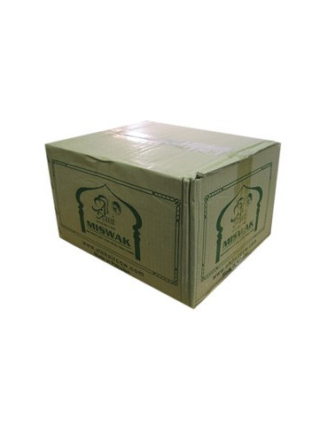 Box of 144 Large Natural Miswaks