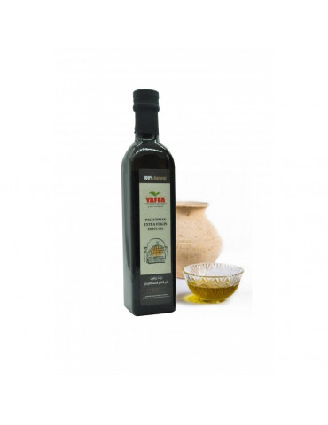 Palestinian Cold-Pressed Olive Oil [500ml]