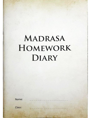 Madrasa Homework Diary