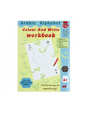Arabic Alphabet Colour and Write Workbook