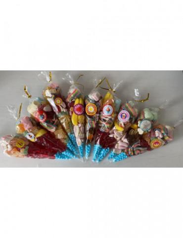 10 x 100g Sweet Cones