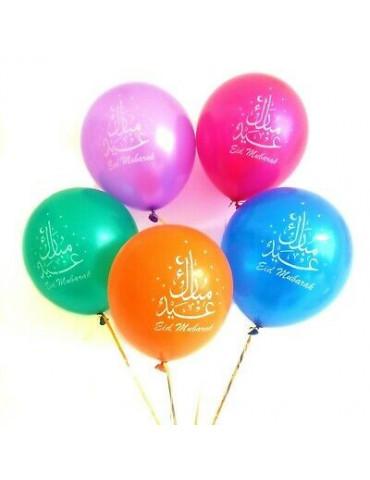 Eid Mubarak Balloons [Pack of 10]