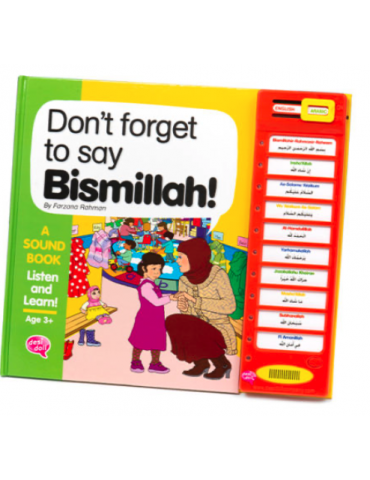Don't Forget to Say Bismillah Story Sound Book